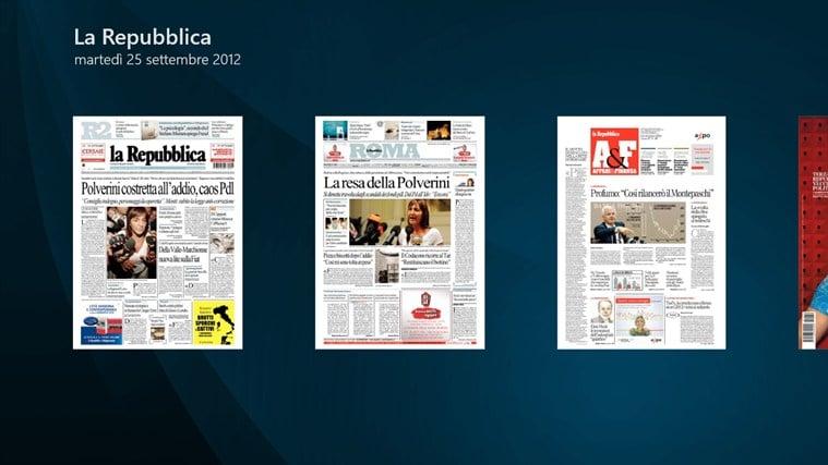 La Repubblica+ per Windows 10