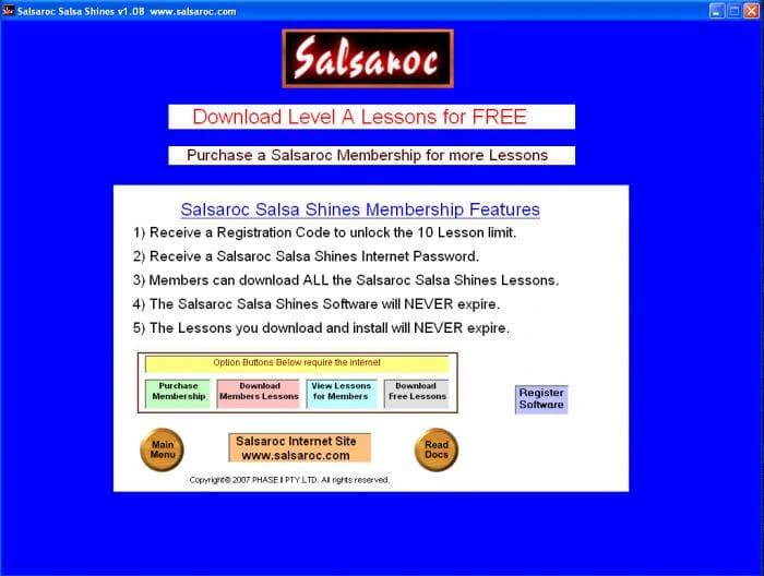 Salsaroc Salsa Shines