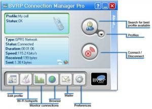 BVRP Connection Manager