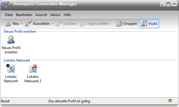 Avanquest Connection Manager