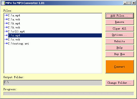 MP4 to MP3 Converter Demo