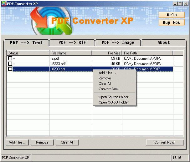 PDF Converter XP