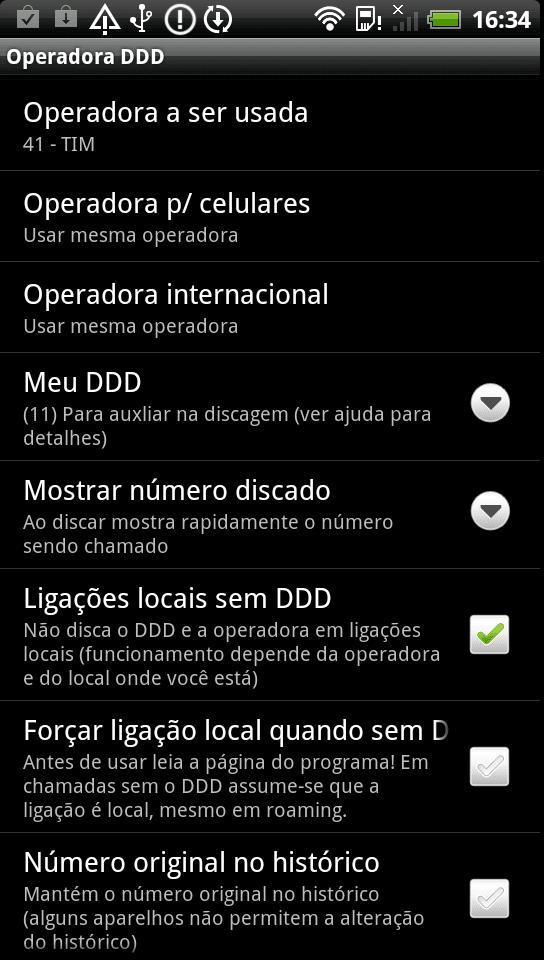Operadora DDD