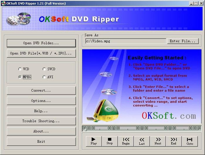 OKSoft DVD Ripper