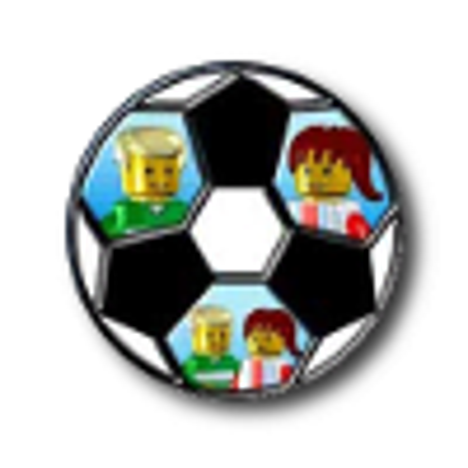 LEGO Desktop Footballer