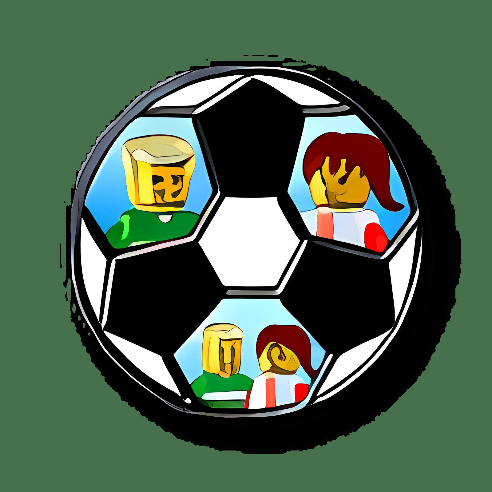 LEGO Desktop Fußballspieler