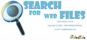 Wsa – Search for Web Files