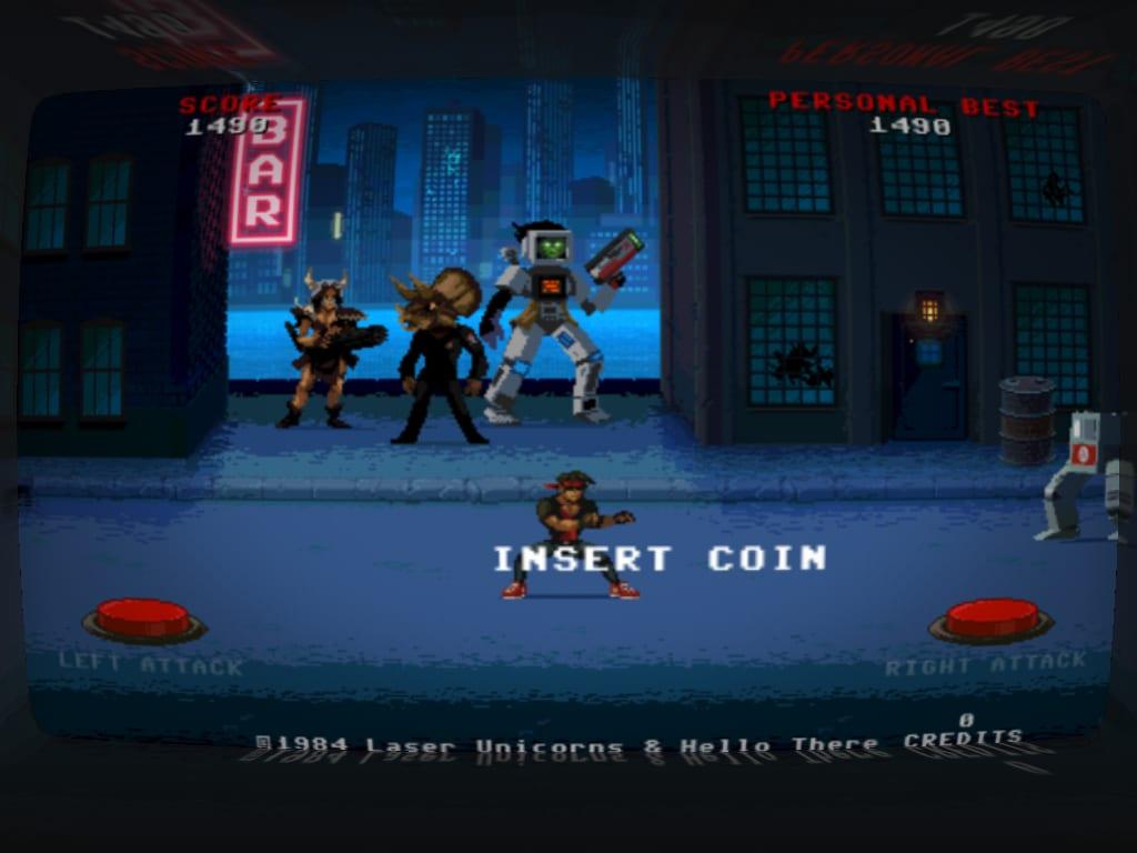 Kung Fury Game