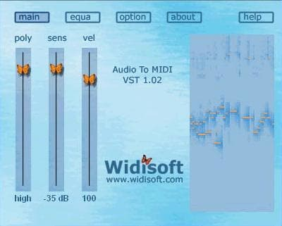 Audio To MiDi VST