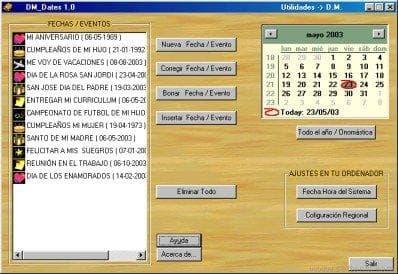 DM Dates