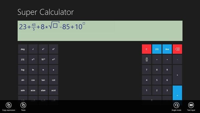 Super Calculator for Windows 10