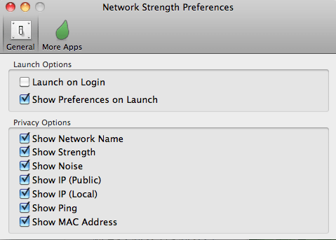 Network Strength