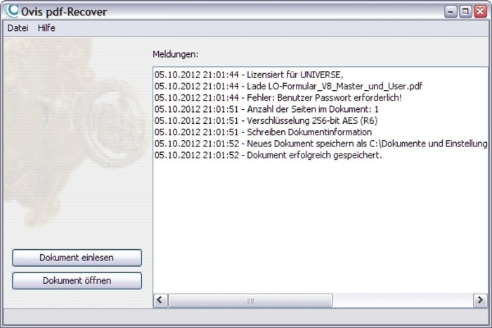PDF-Recover