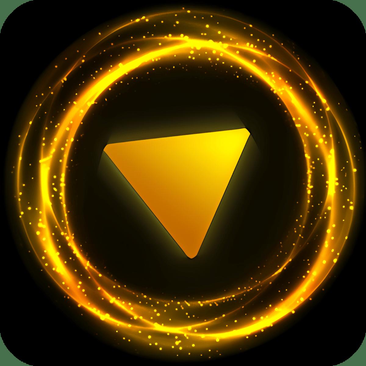 Magic Ball - Golden Glitter