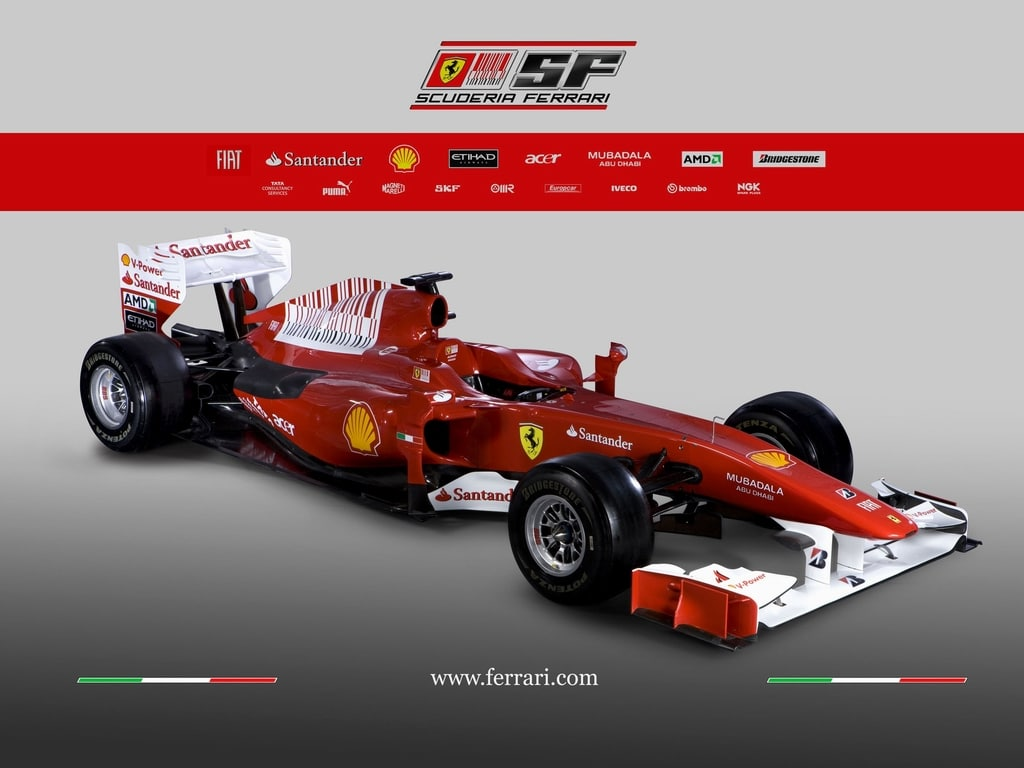 Ferrari F10 Wallpaper