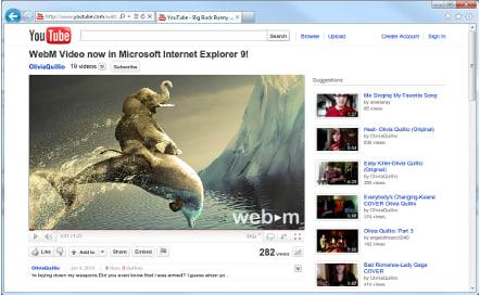 WebM voor IE9