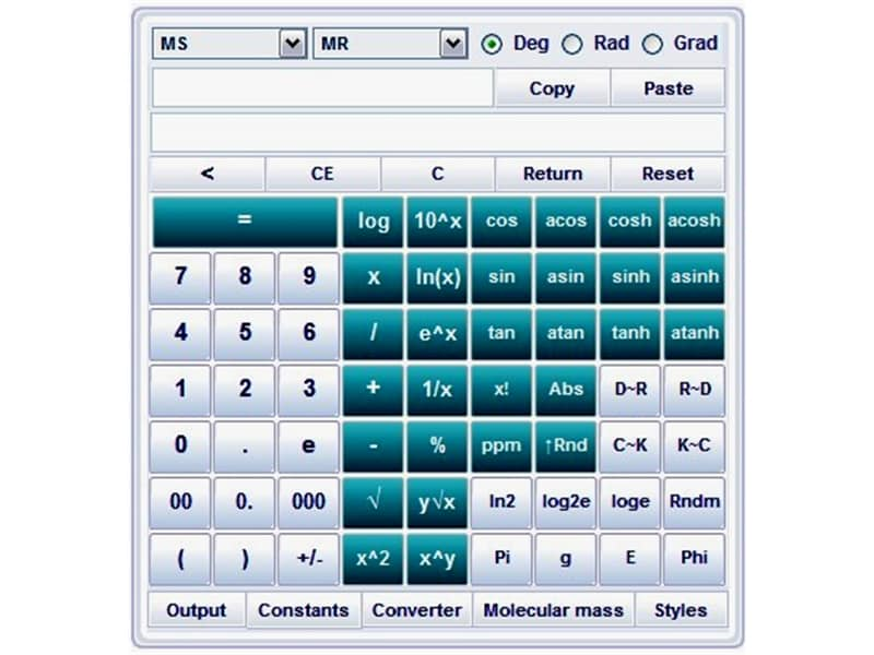 DPLS Scientific Calculator