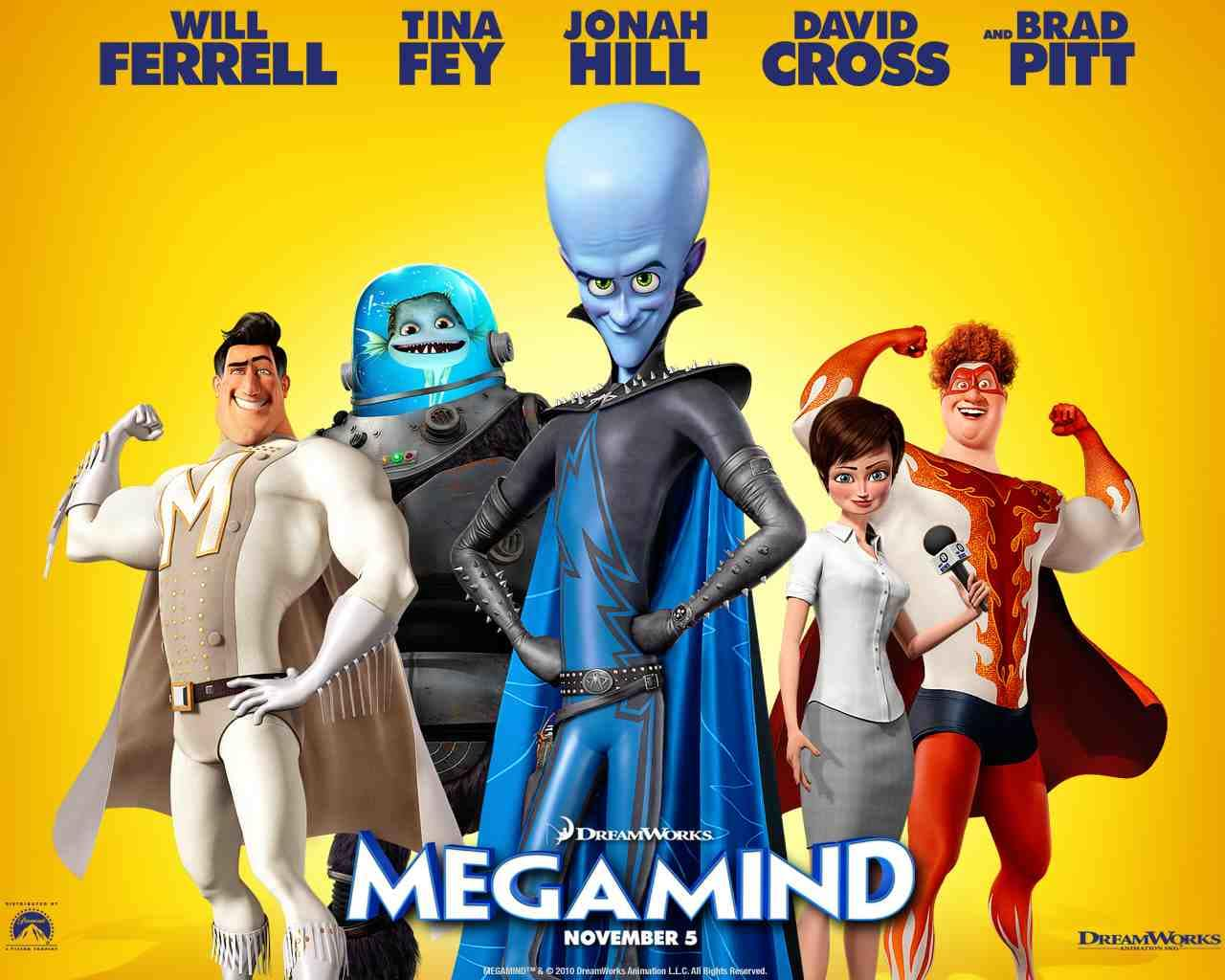 Megamind - Wallpaper