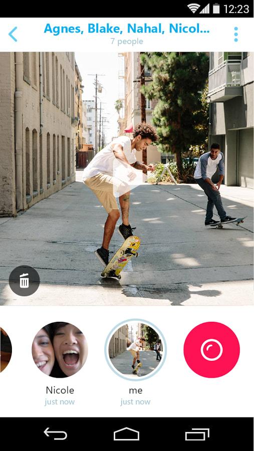 Skype Qik: Messagerie Vidéo