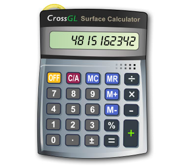 CrossGL Surface Calculator