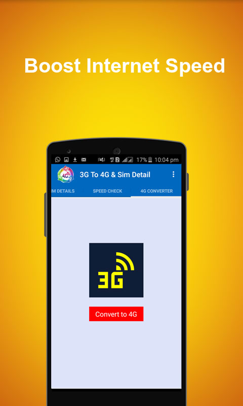 4G Converter & Sim Info