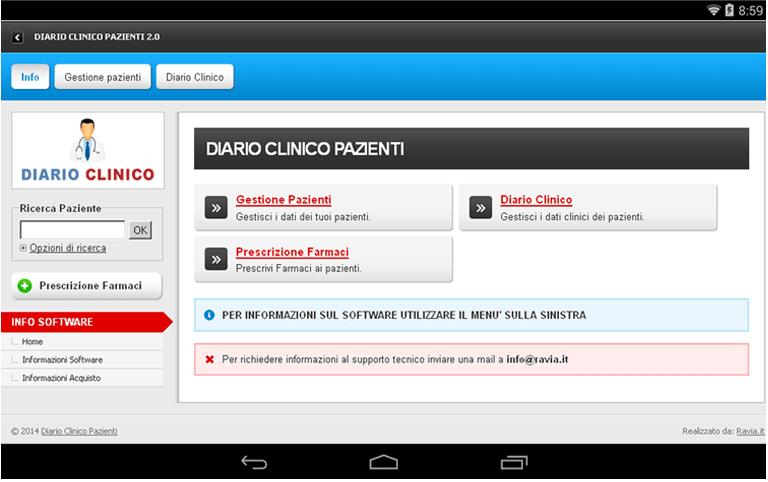 Diario Clinico Pazienti