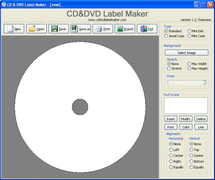 CdDvd Label Maker  Download