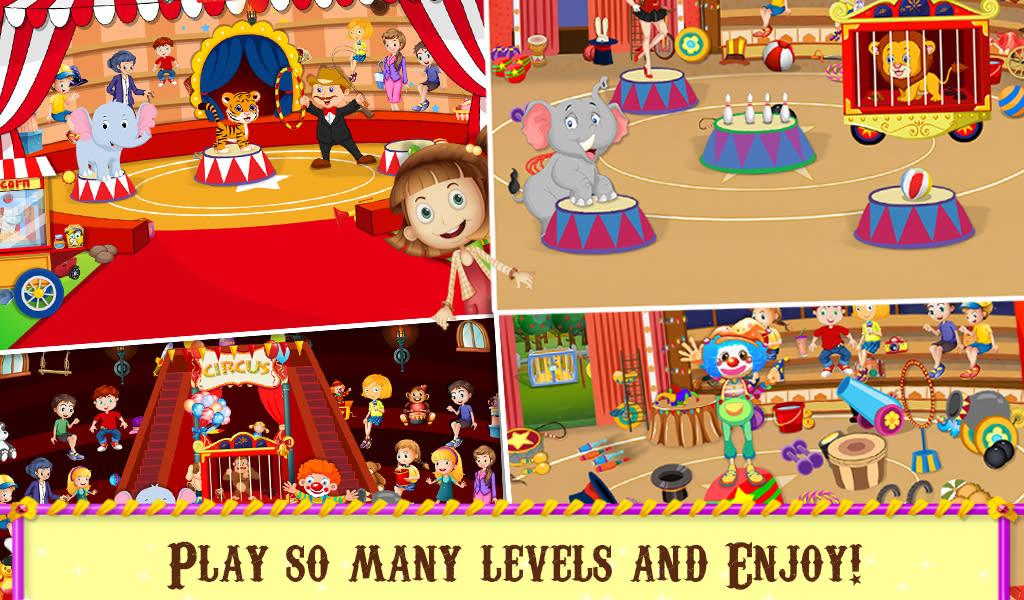 Circus Hidden Objects Fun