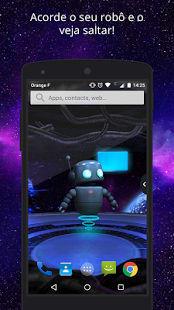UR 3D Robot espacial animado