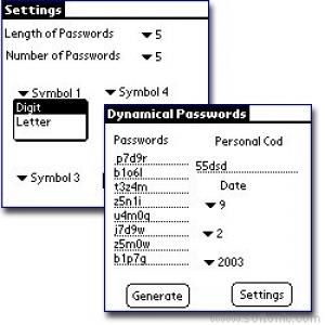 Dynamical Passwords