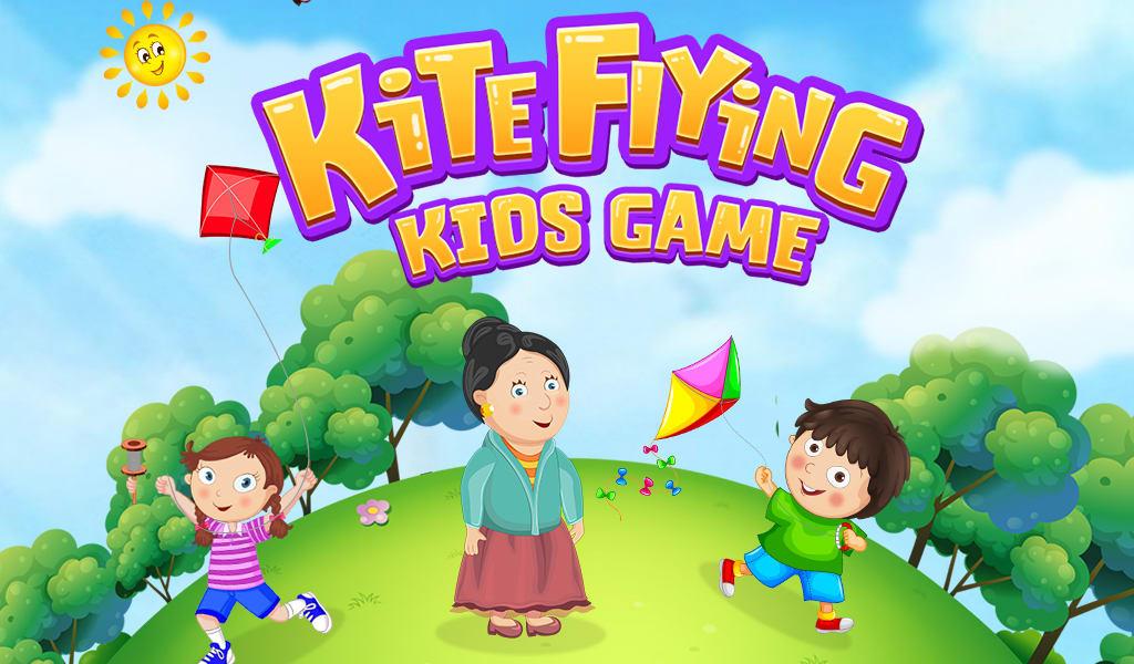 Kite Flying Kids Game