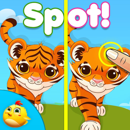 Spot the Differences Animals