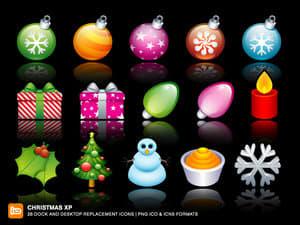 Paczka ikon Christmas XP