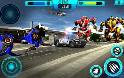 Air Force Transform Robot Cop Wolf Helicopter Game for Android ... on download flying, download birds, download bus, download dragon,