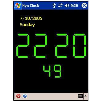 Nyx Clock
