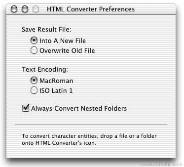 HTML Converter
