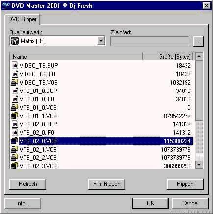 DVD Master 2001