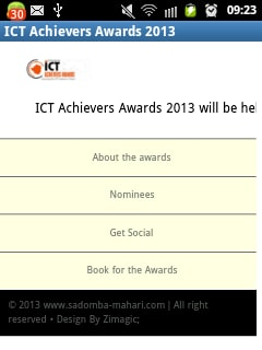 ICT Achievers Awards 2013