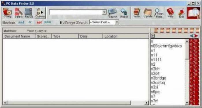 PC Data Finder