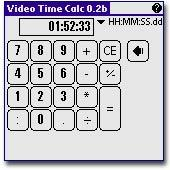 Video Time Calculator