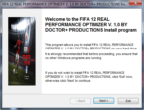 FIFA 12 Real Performance Optimizer