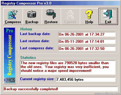 Registry Compressor