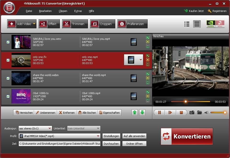4Videosoft TS Converter