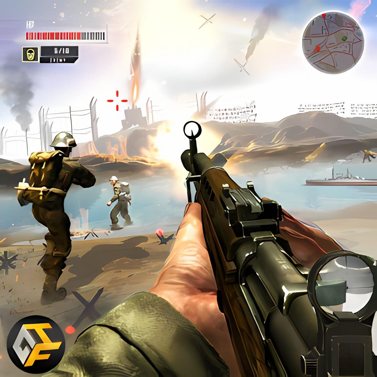 WW2 Survival War Prisoner  FPS Shooting Game