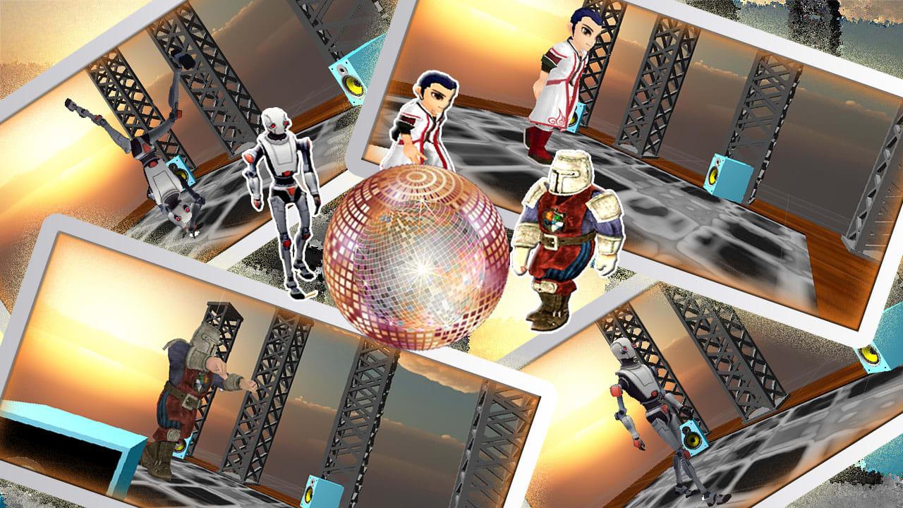 Augmented 3D Dance Mania