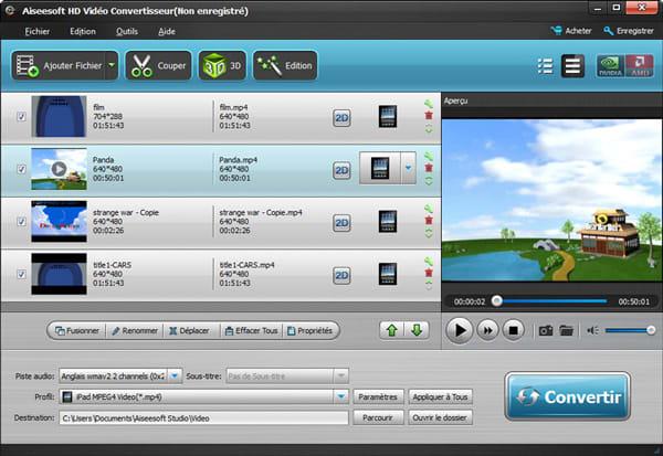 Aiseesoft HD Vidéo Convertisseur