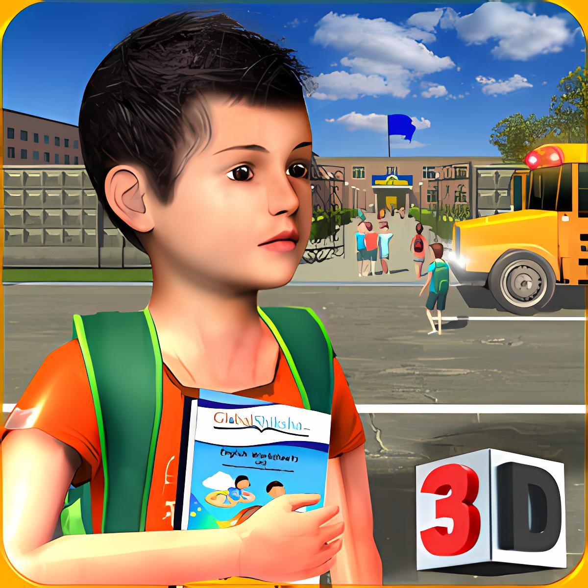 Preschool Simulator: Kids Learning Education Game