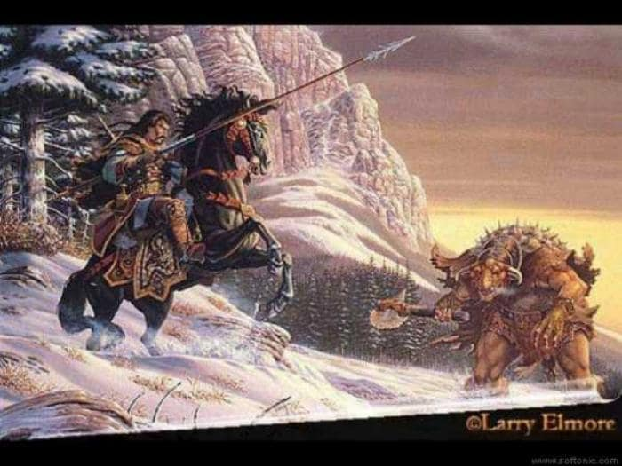 Larry Elmore Screensaver