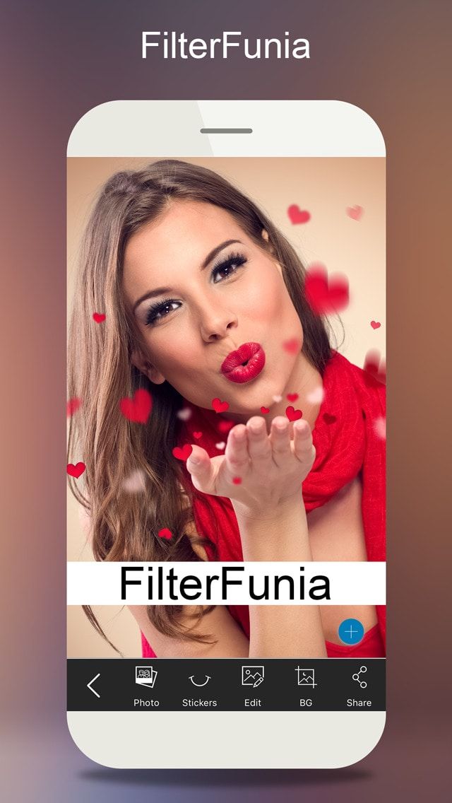 Filterfunia - Add Stunning Filters, Stickers & Flower Frames To You Images!