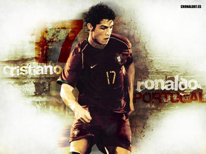 Cristiano Ronaldo Fond d'écran